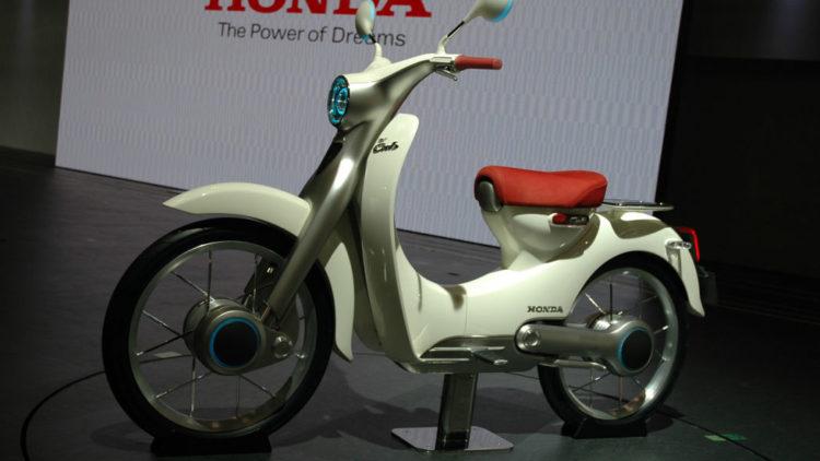 Honda EV Cub Tokyo