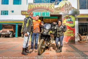 Ecuador Opens for Motorcycle Tourism