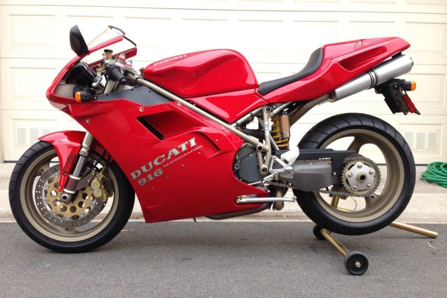 1995 Ducati 916: Bid fast, before it gets away!