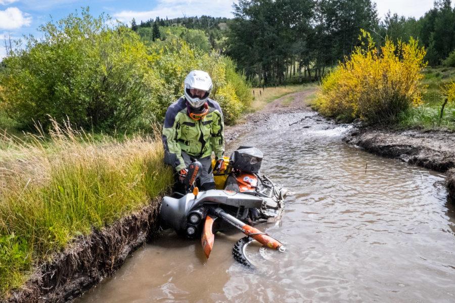 @engineman on the Colorado BDR.