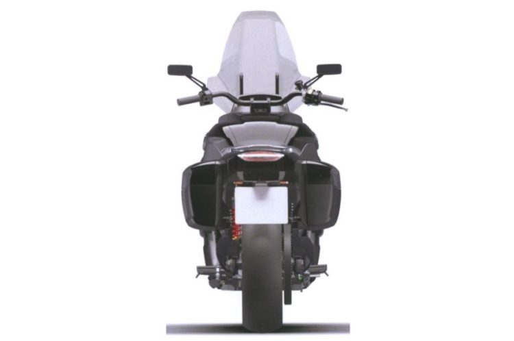 Russian escort motorcycle