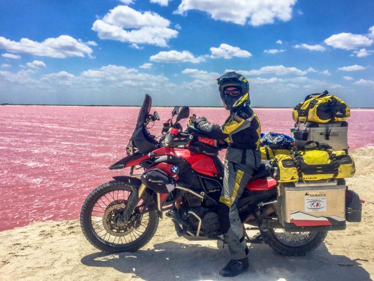 Mexico, Yukatan, Las Coloradas