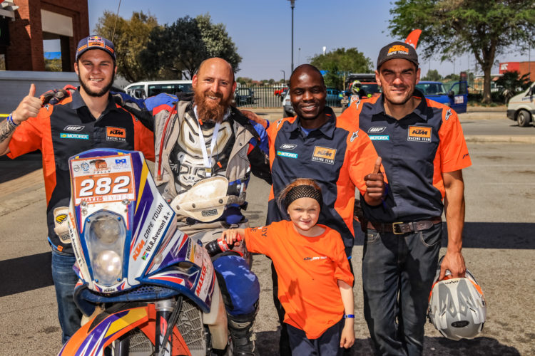 Tree Surgeon to Rally Rider: Willem Avenant // ADV Rider