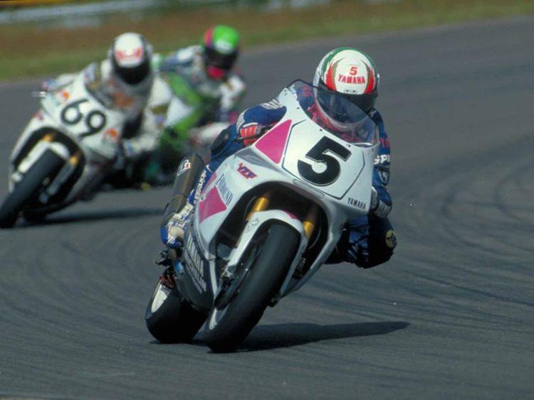 Pirovano in 1993. Credit: MotorCycleNews.com