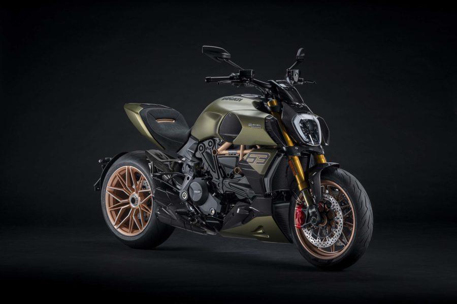 Like a Lamborghini, but a motorcycle. Photo: Ducati