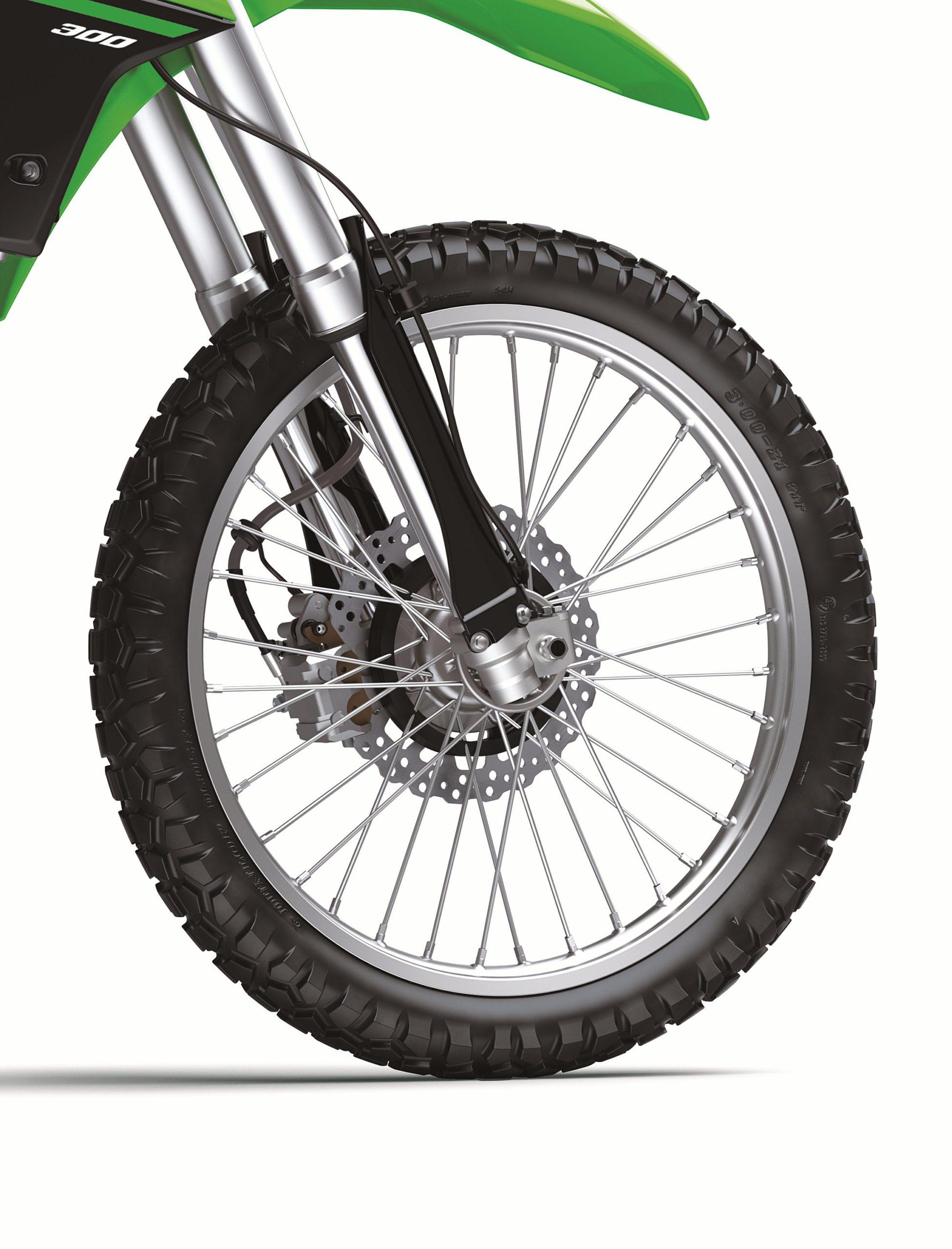 KLX300 front wheel