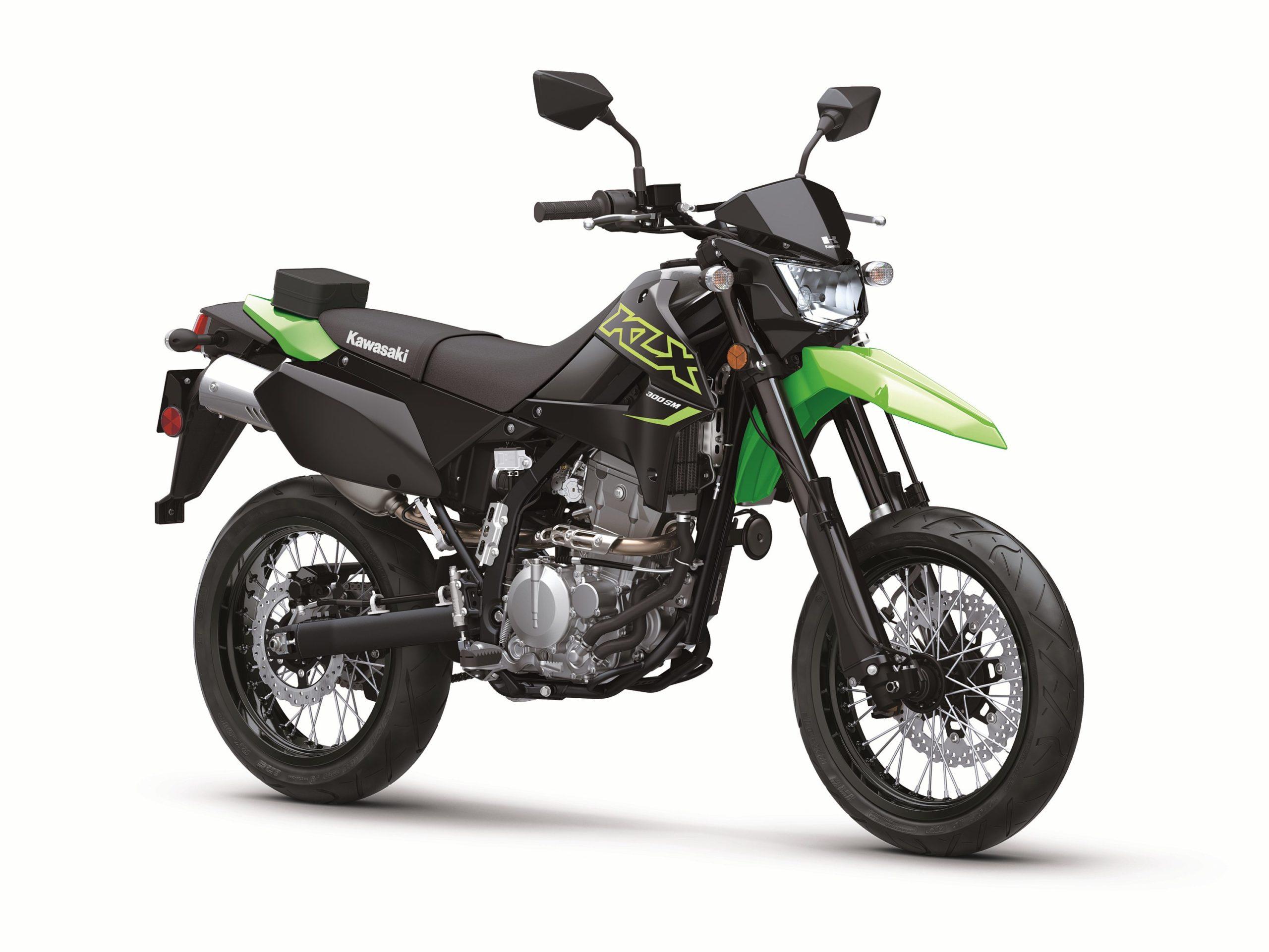 Kawasaki Unveils The KLX300SM Supermoto - Adventure Rider