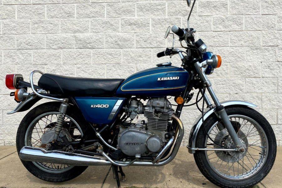 1975 Kawasaki KZ400: A Great Lightweight