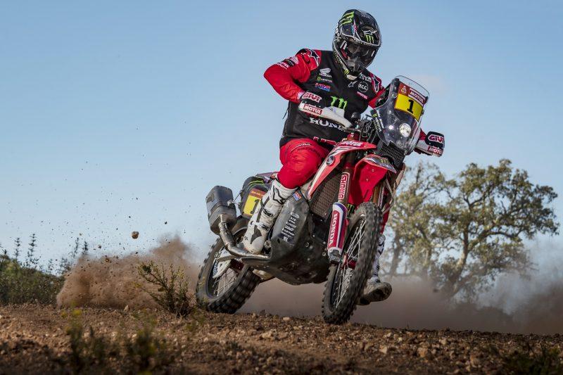 Dakar Honda Brabec