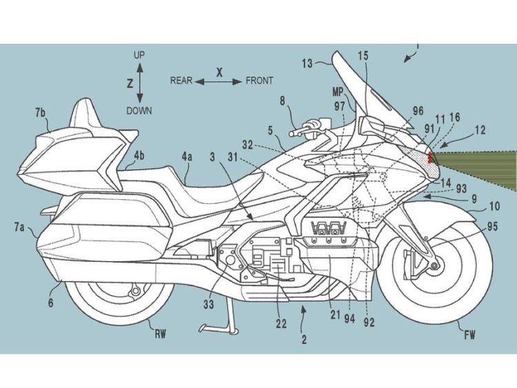 Honda Patent Image Credit: CycleWorld.com
