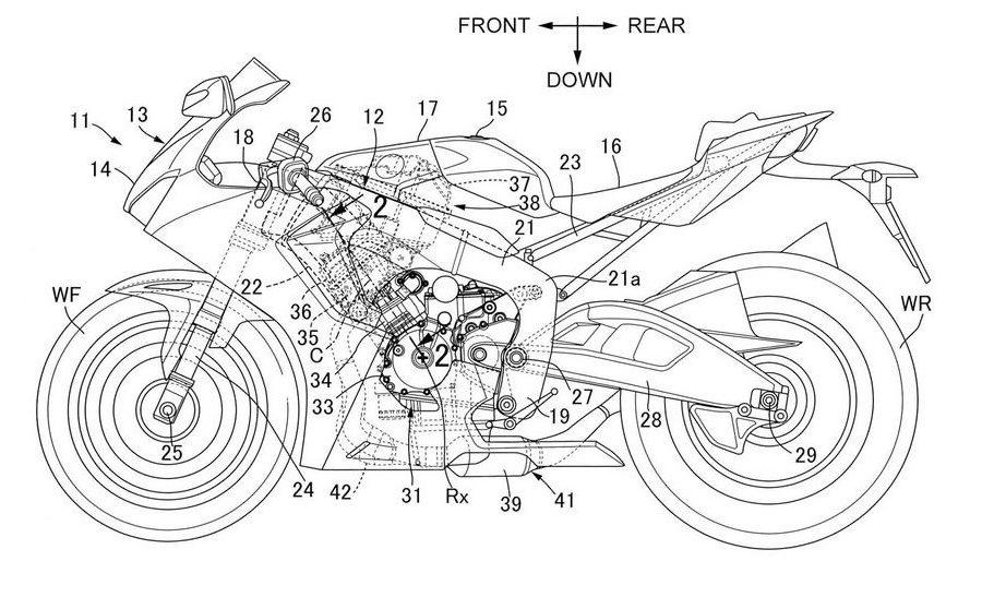 Honda Prechamber Combustion Patent Credit: Japanese Patent Office