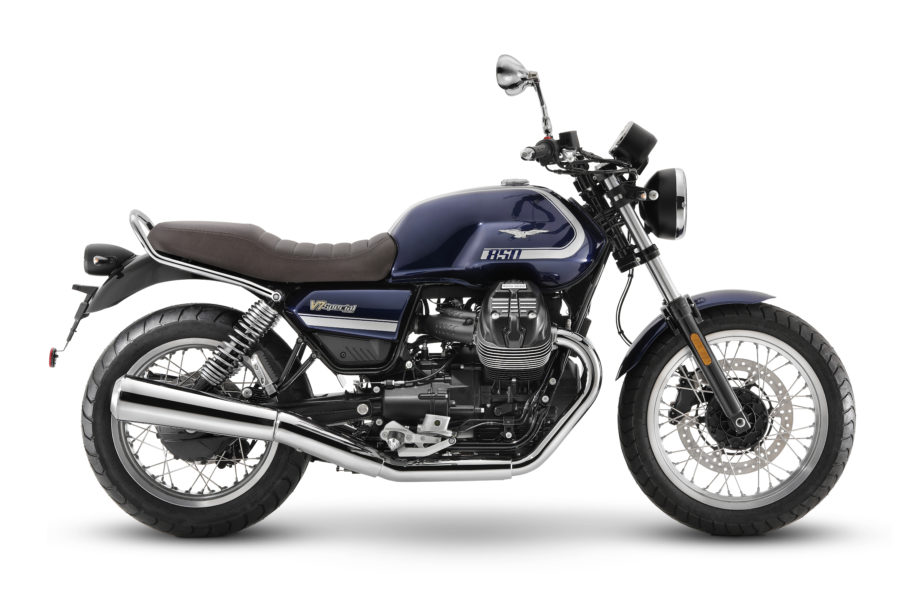 The new Moto Guzzi V7 Special, with wire wheels and flashy trim. Photo: Moto Guzzi