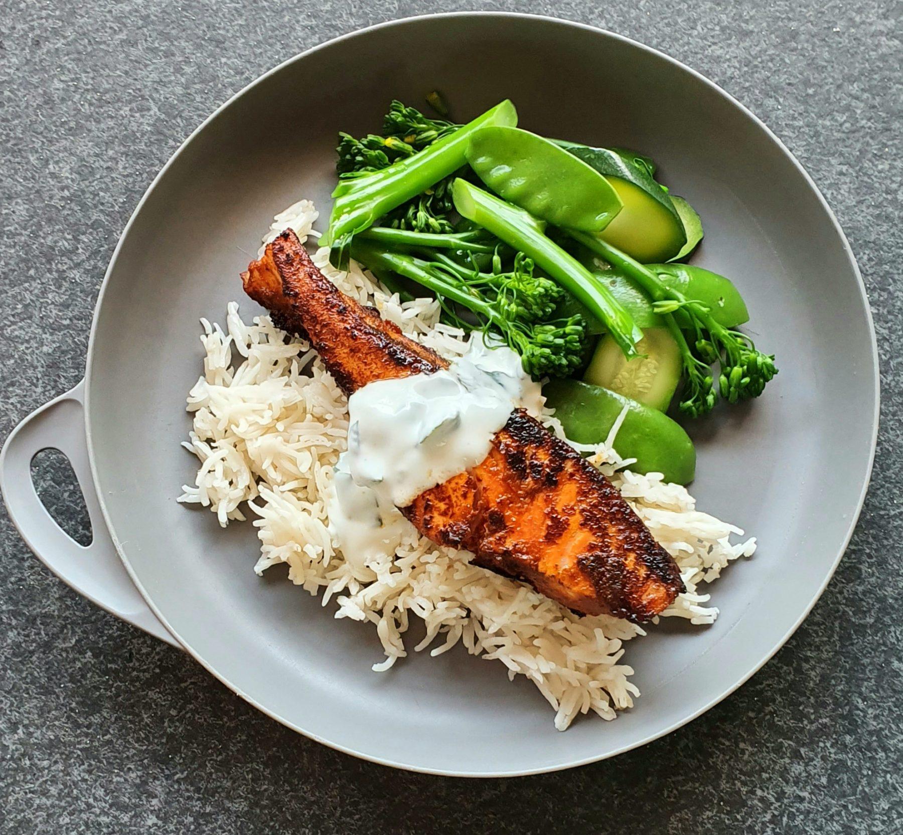 Tandoori Salmon Photo Kylie Day