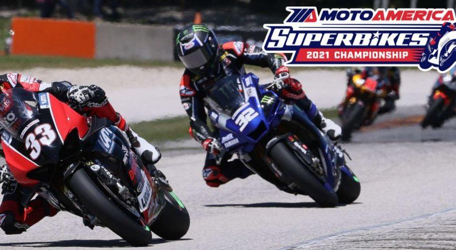 MotoAmerica logo racing