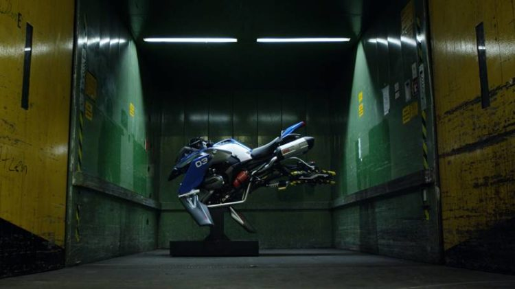 BMW Working on a Futuristic Hover Bike? // ADV Rider