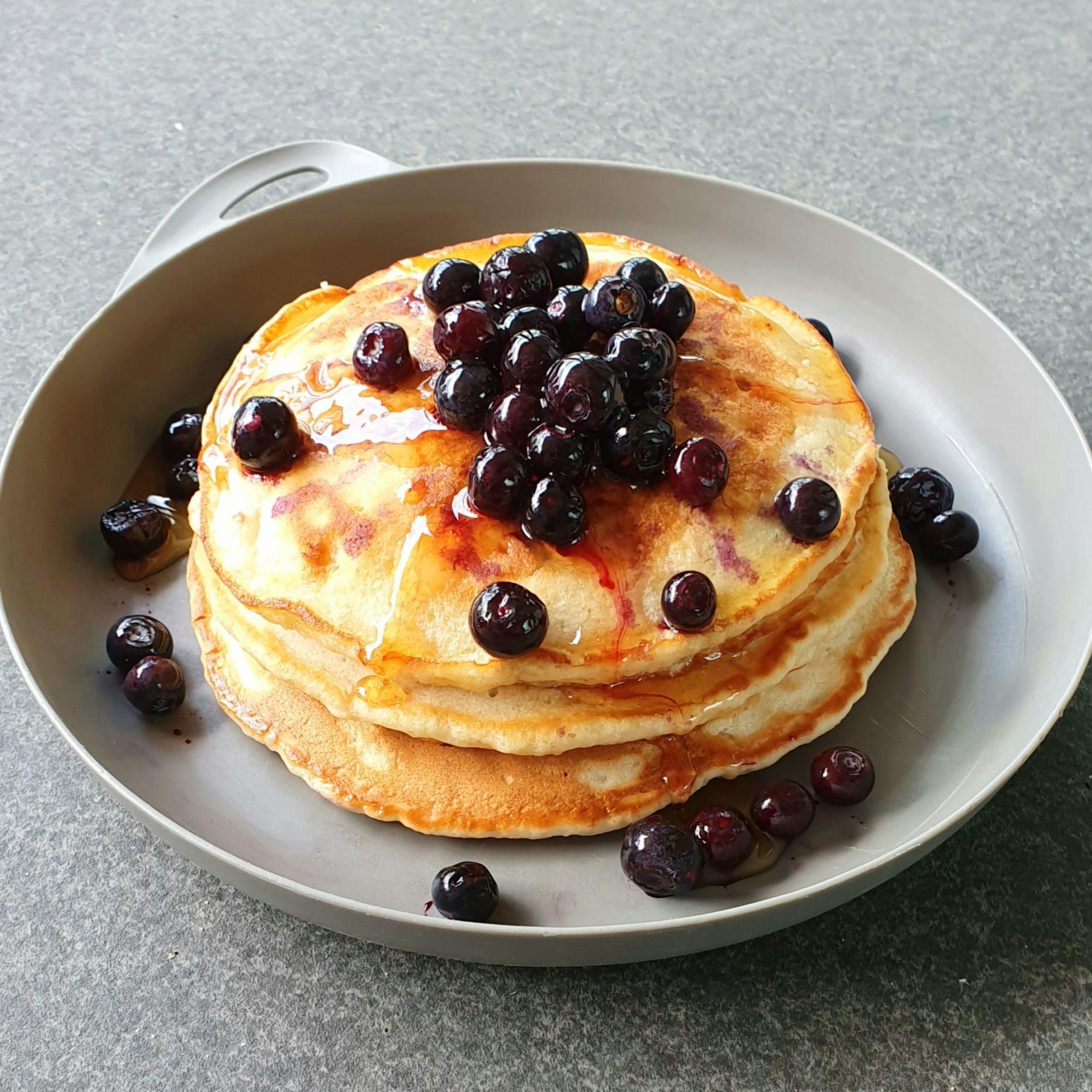 Banana Bread Pancakes Photo @Kylie Day