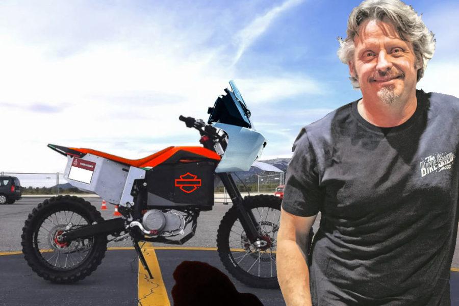 APRIL FOOLS! Harley-Davidson launches all-electric Dakar team