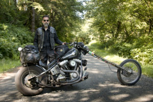 'Traveling Chopper', Long Bike, Long Adventure