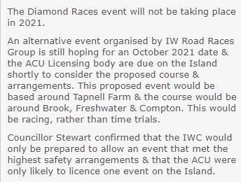 Isle of Wight IWRR