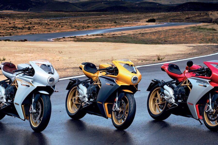 The new MV Agusta Superveloce lineup. Photo: MV Agusta