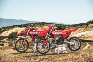 New MC250 and MC350F motocross models. Photo: GasGas