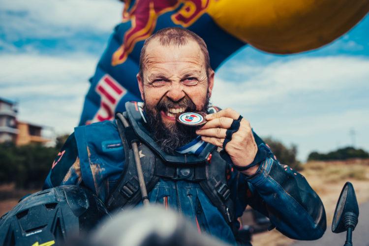 Zero to Hero: Gunnar Roland. Hellas Rally Finish // ADV Rider