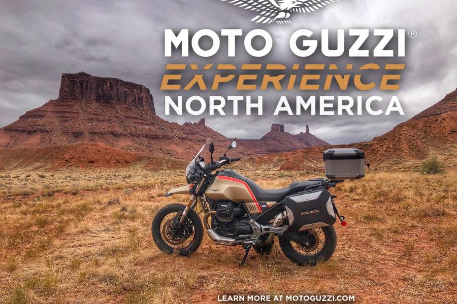 Got get that Guzzi dirty! Image: Moto Guzzi/Piaggio