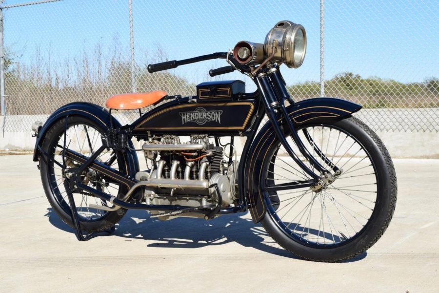A 1917 Henderson Four.  Photo credit: Mecum