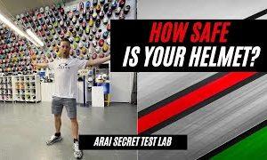 WSB Champ Jonathan Rea Shows Off Arai's Secret Test Lab